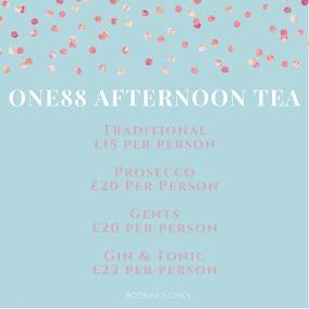 One88 Afternoon Tea