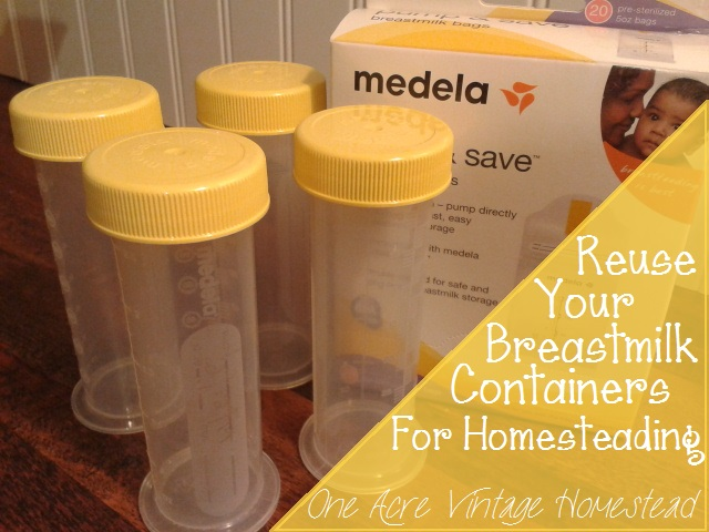 breastmilk storage containers