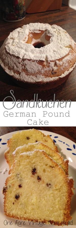German Pound Cake