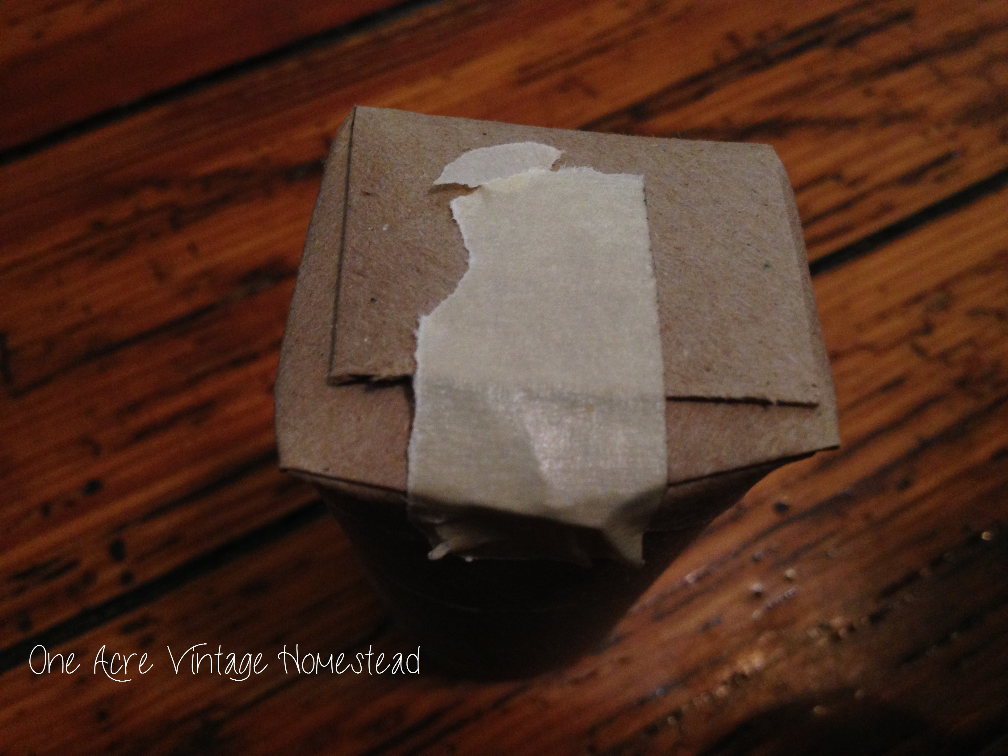 Toilet Paper Roll Seed Starter Cups - One Acre Vintage Homestead How To