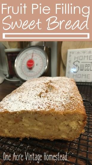 pie filling quick sweet bread