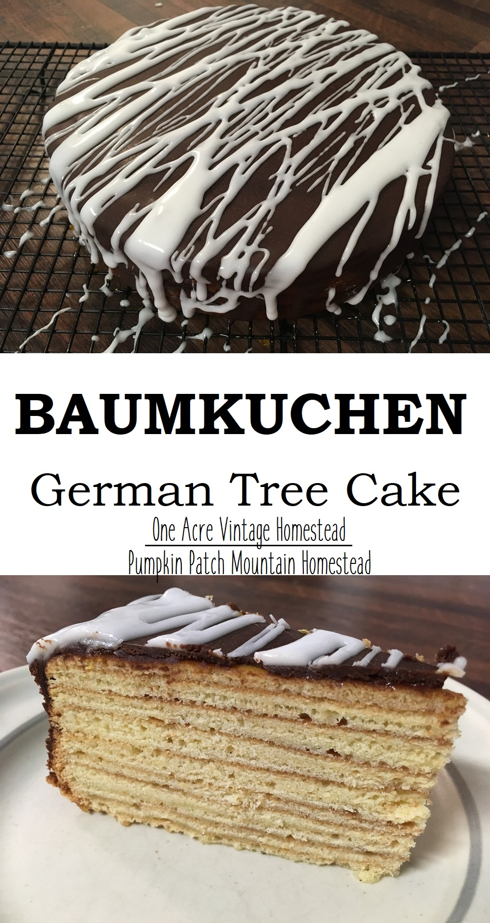 Baumkuchen Tree Cake Recipe