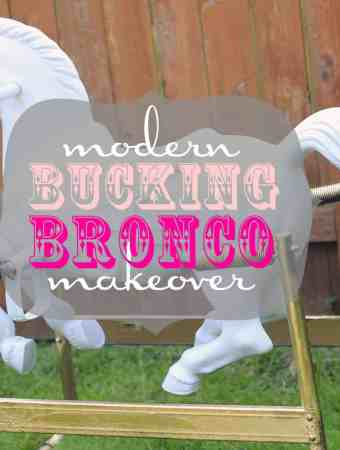 MODERN BUCKING BRONCO MAKEOVER