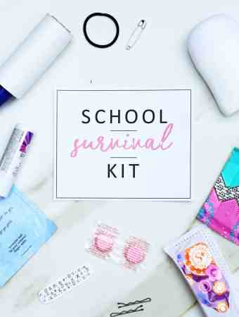 DIY BACK TO SCHOOL SURVIVAL KIT + FREE PRINTABLE