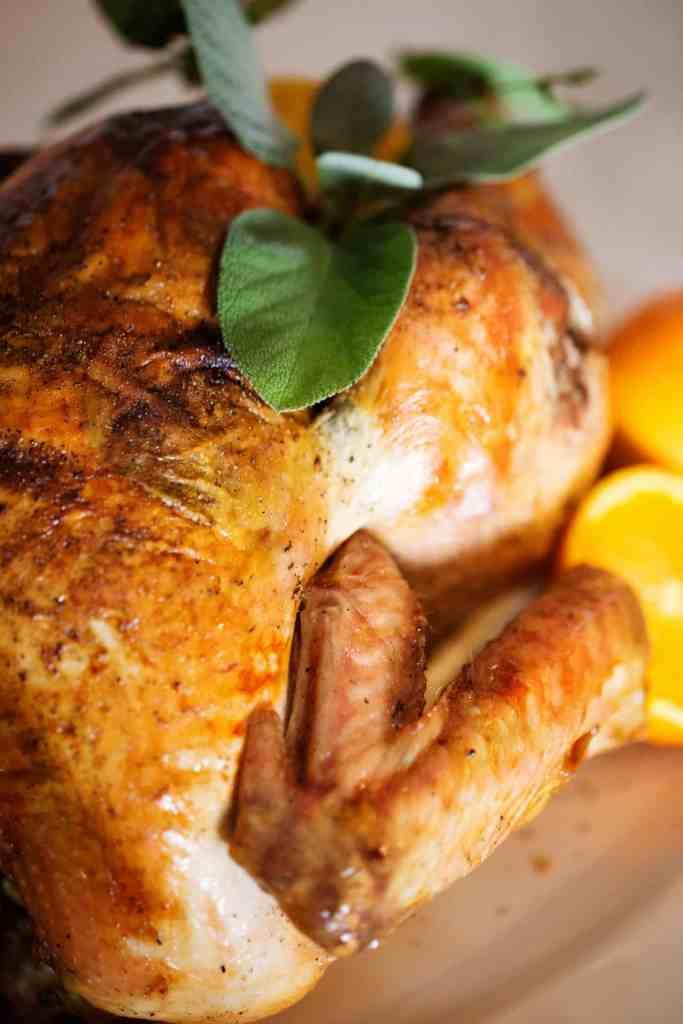 Fall Wine and Pie Party orange sage roast turkey thanksgiving turkey #TurkeyDayTips #CollectiveBias