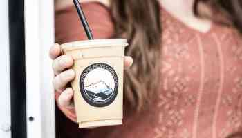 Whipped Coffee Foam Iced Latte Fresh Flavorful