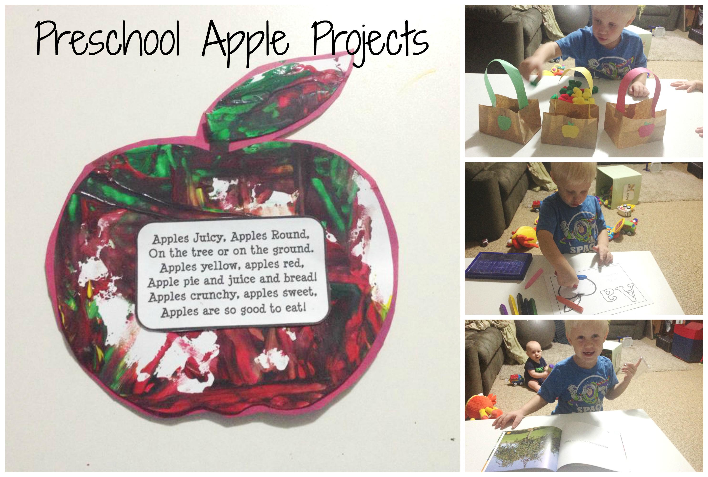 Preschool Apple Projects