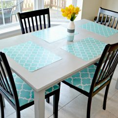 Kitchen Table And Chair Booster Or High Makeover Redo Amy Latta Creations