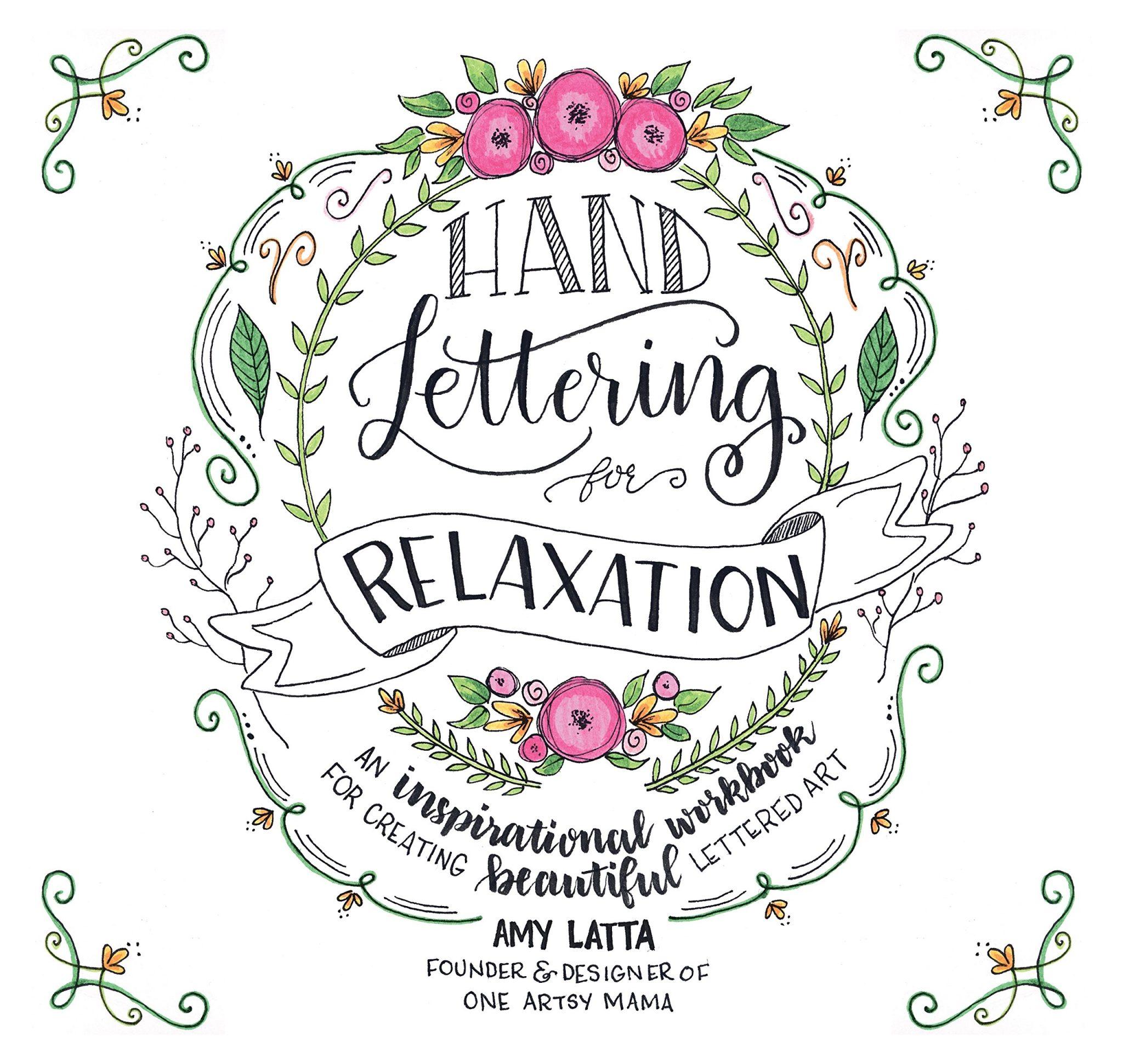 Hand Lettering Descender Letter Flourishes Amp Free