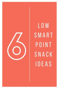 6 low smart points snacks