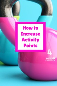 increasing activity points