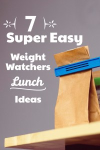 weight watchers lunch ideas