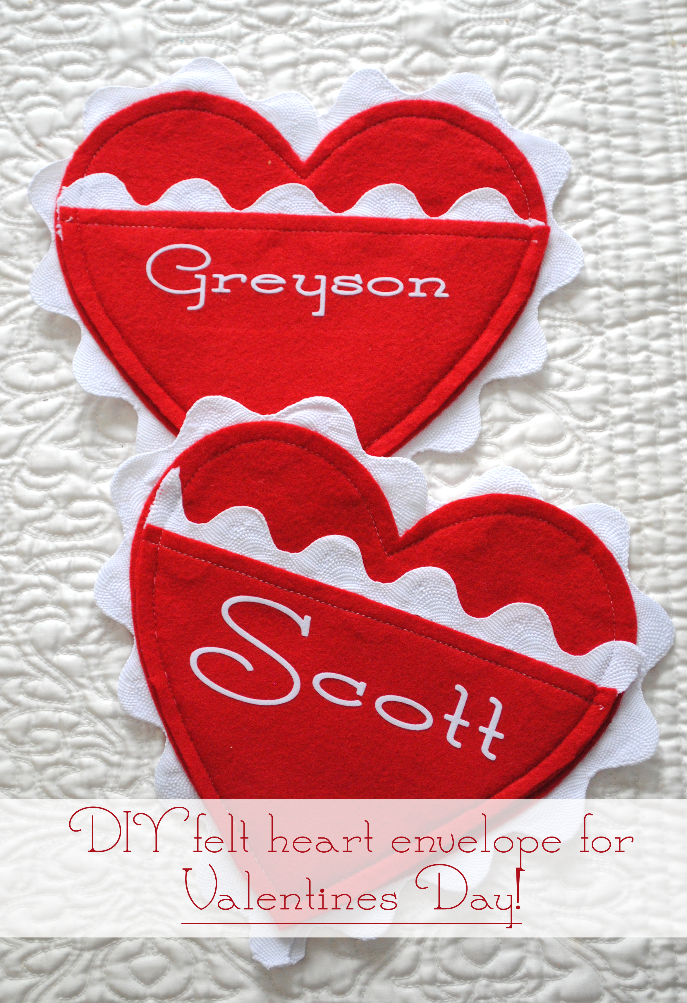 Valentines Day Advent Hearts