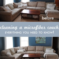 Cleaning Down Filled Sofa Cushions 2 Seater Recliner Singapore A Microfiber Couch All You Need To Know One Beautiful Home Before And After