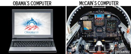 McCain's Computer