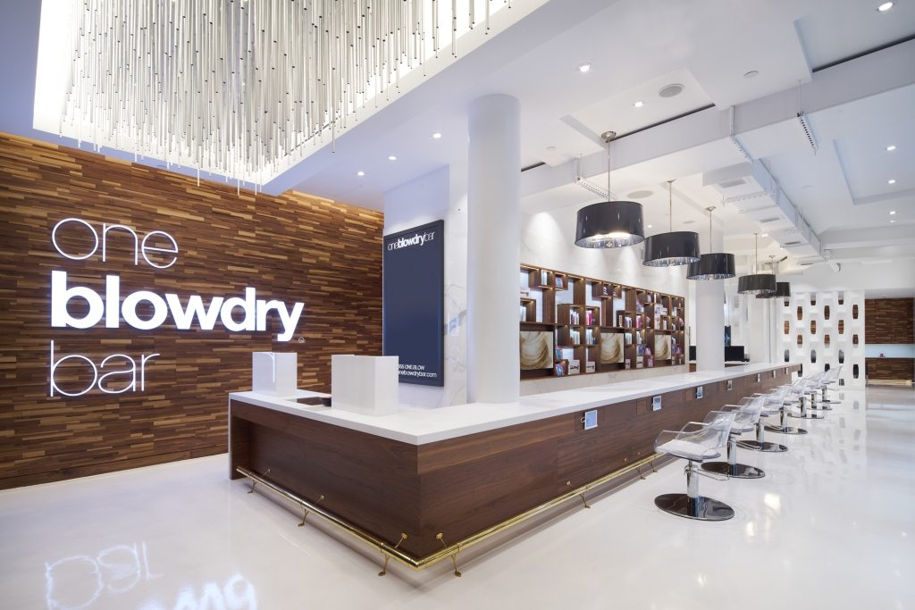 Macy's Herald Square blow dry bar called oneblowdrybar at macys herald square