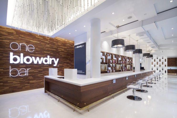 Macy's Herald Square blow dry bar called oneblowdrybar at macys herald square
