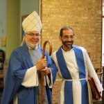 Bishop Christopher Epting and Father Manny Borg
