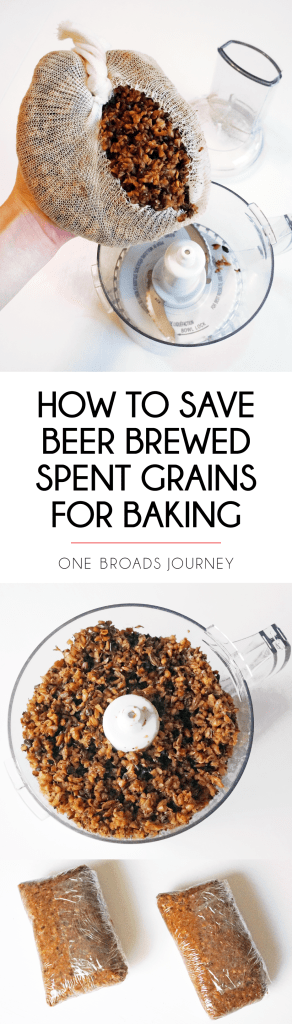 How to save beer brewed spent grains for baking | DIY Home Brewing just now