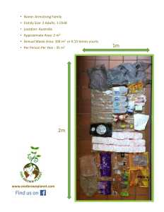 one brown planet, family shopping, recycle, plastic waste,