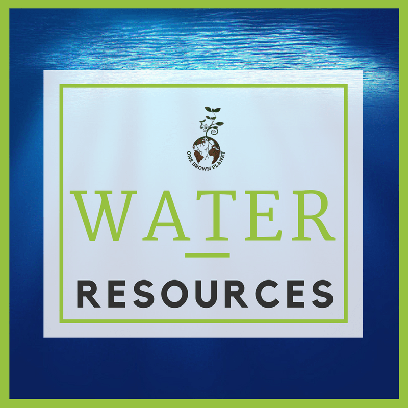 water resource, one brown planet, sustainable living