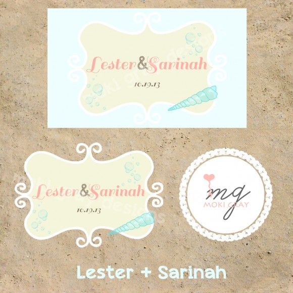 Wedding Logo by Moki Gray Designs