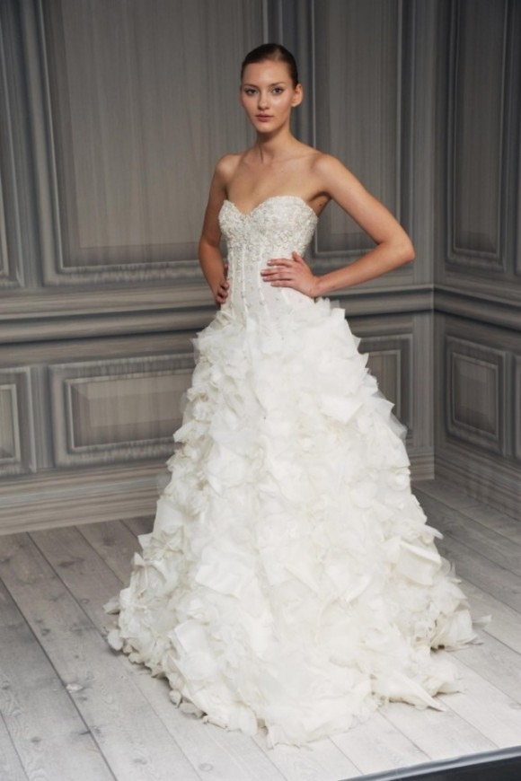 Spring 2012 Monique Lhuillier Bridal
