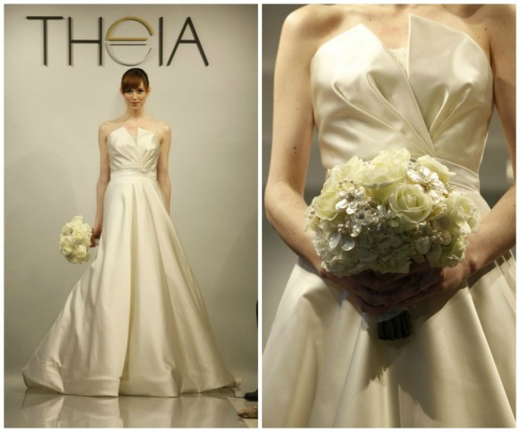 Theia White Spring 2014 Wedding Collection