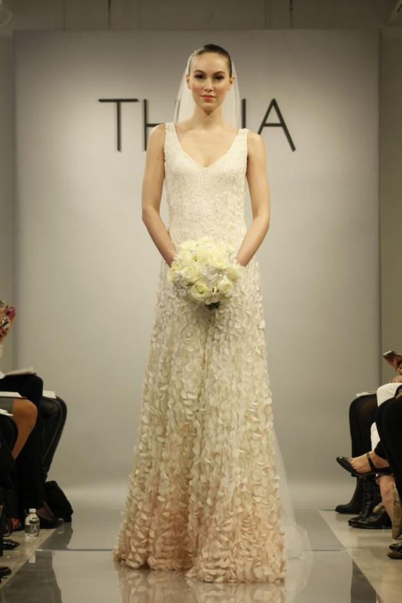 Spring 2014 Theia White Bridal Collection