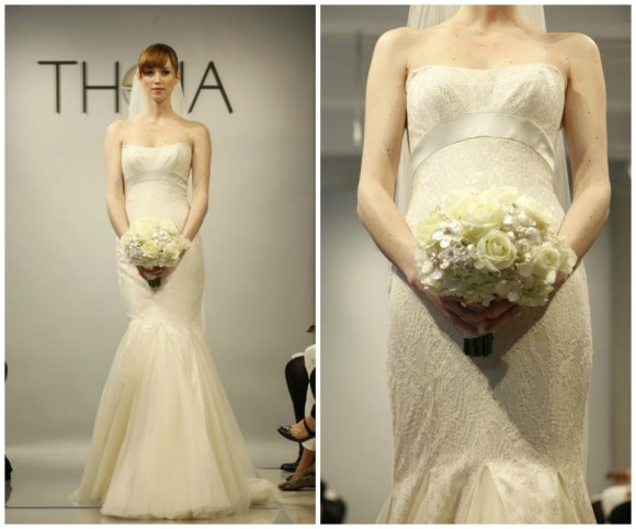 Theia White Spring 2014 Wedding Gown Collection
