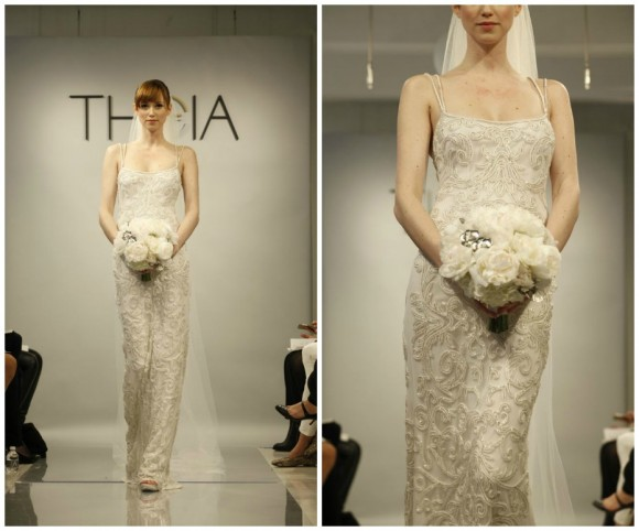 Theia White Spring 2014 Bridal Collection