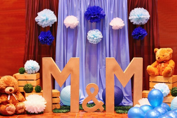 Blue and Brown Teddy Bear Themed Party - 02