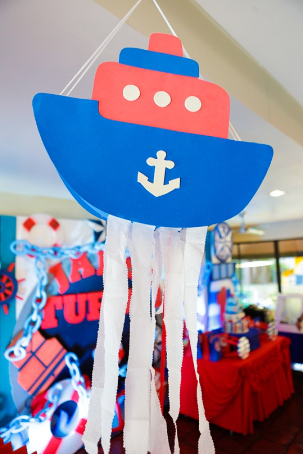 Nautical Themed Birthday Party - 06