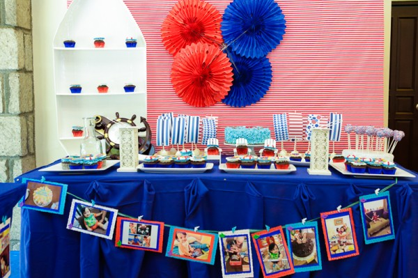 Nautical Themed Birthday Party - 14