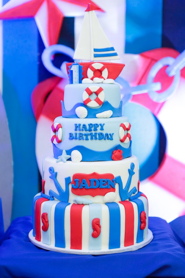 Nautical Themed Birthday Party - 21