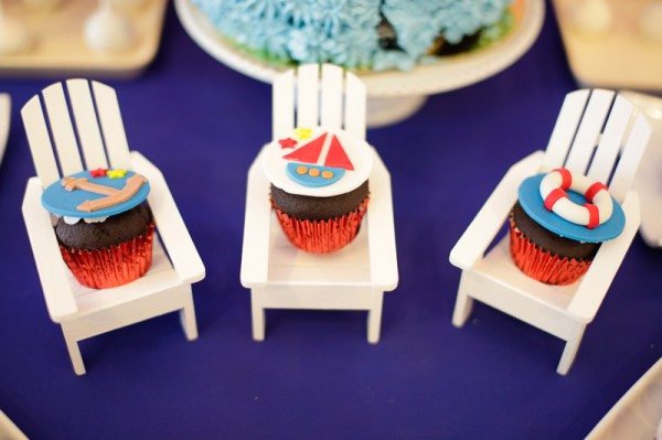 Nautical Themed Birthday Party - 25