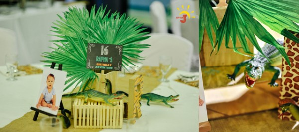 Safari Themed Birthday Party - 14