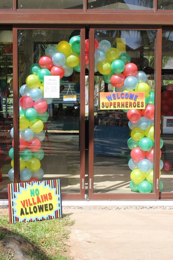 Superheroes Birthday Party - 12
