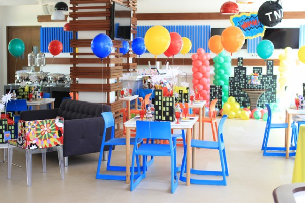 Superheroes Birthday Party - 14
