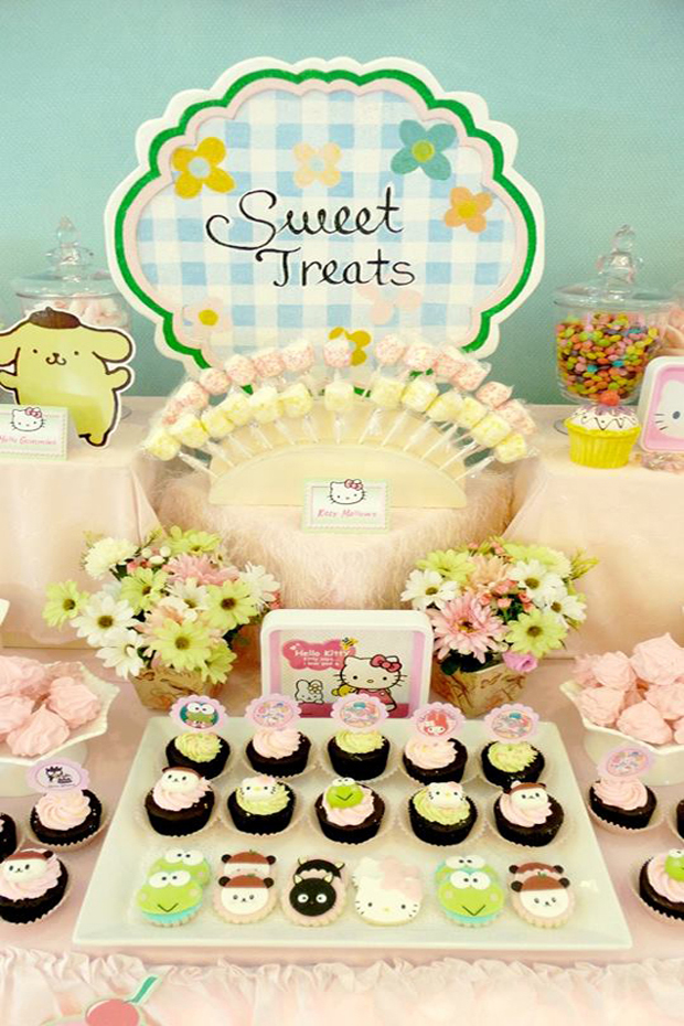 Sanrio Dessert Table - 02