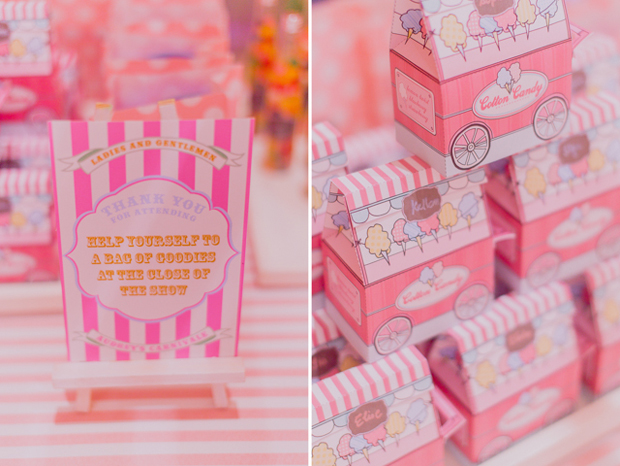 Audreys Vintage Pastel Carnival Birthday Party  One
