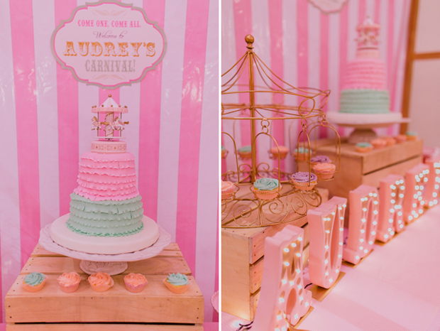 Vintage Pastel Carnival Party - 09