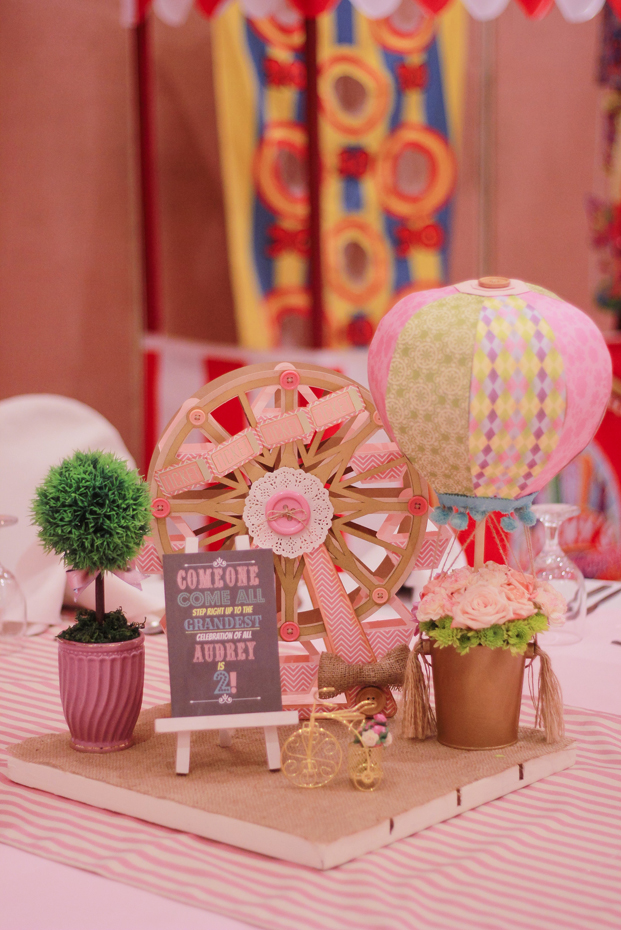 Vintage Pastel Carnival Party - 26