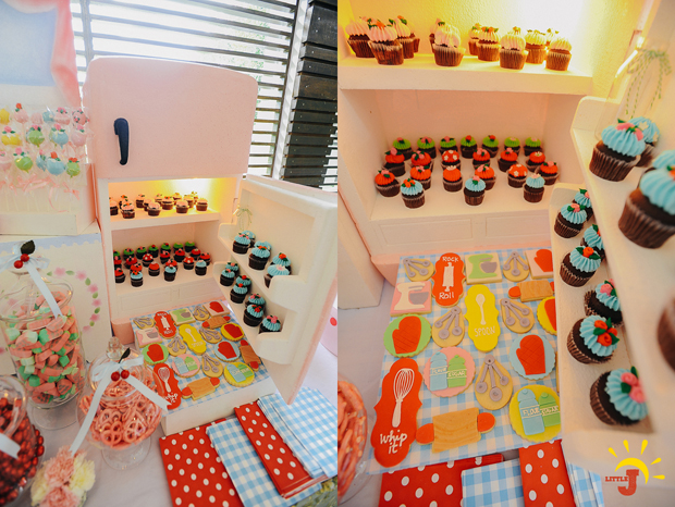 Retro Kitchen Inspired Party - 27