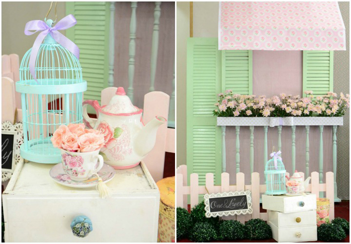 Cath Kidston Shabby Chic Birthday Party - 26