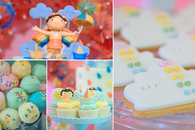 Happy Clouds and Raindrops Party - 14