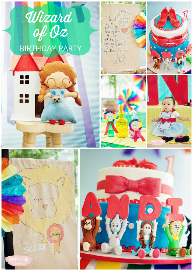 wizard of oz party ideas