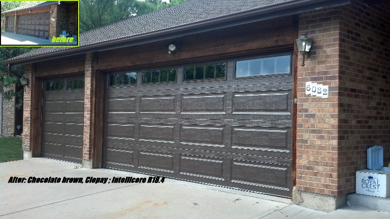 Premium Lifetime Insulated Garage Doors  One Clear Choice