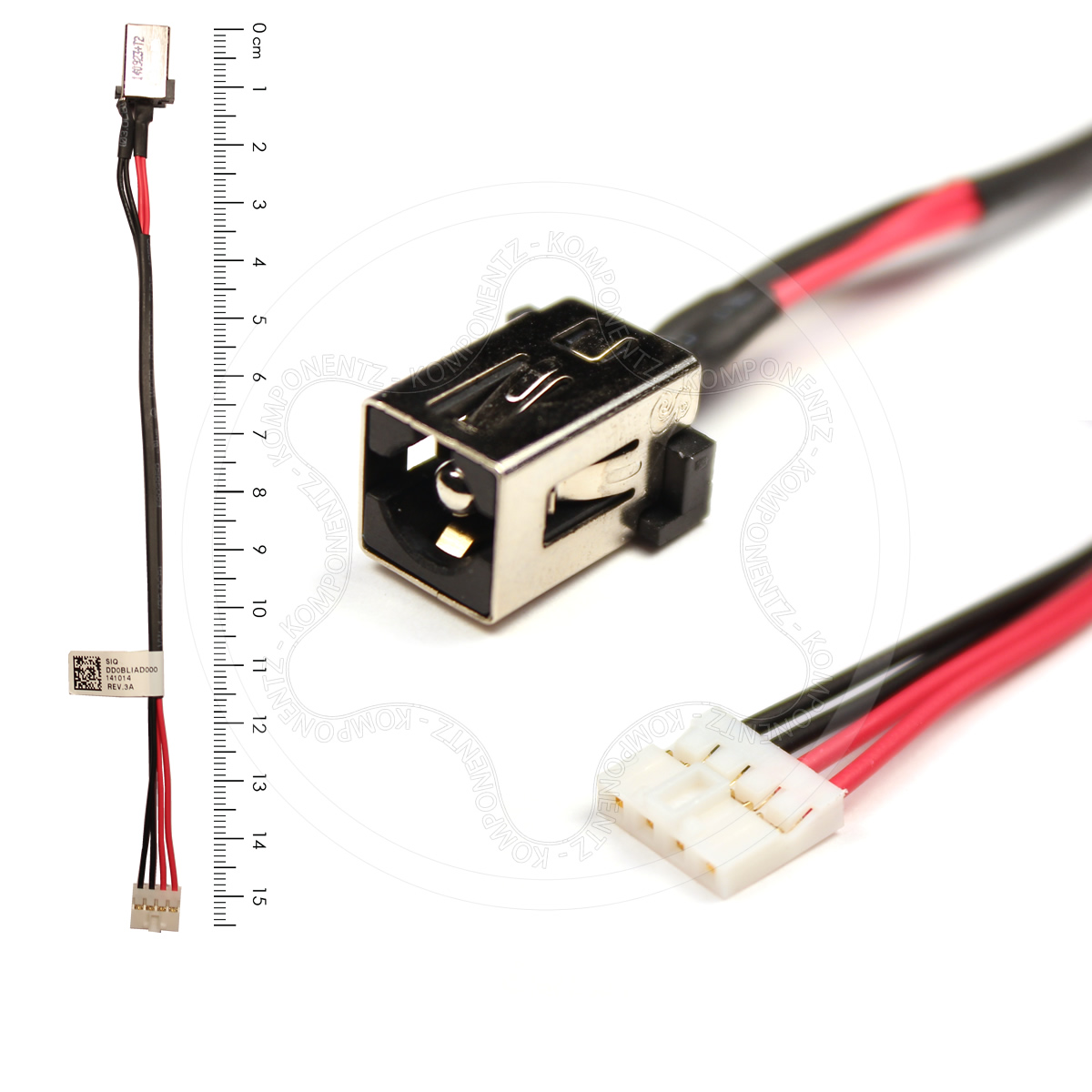 hight resolution of dc power jack port socket cable for toshiba satellite l50 b l50d b details about dc