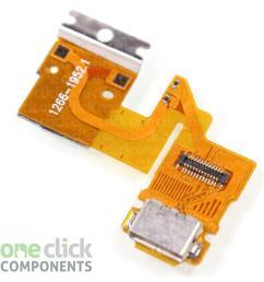 details about usb charging dock port flex cable for sony xperia tablet z sgp311 sgp312 sgp321 [ 1200 x 1200 Pixel ]